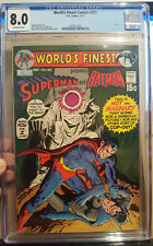 WORLDS FINEST COMICS #202 CGC 8.0 1971 - 2092012025 OFF-WHITE PAGES