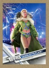 2017 Topps WWE Then Now Forever Charlotte Flair Non Auto