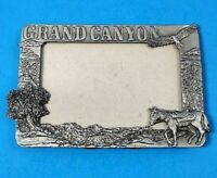 "Vintage Smith Western Photo Frame Horse Pewter Grand Canyon 5""x7"""