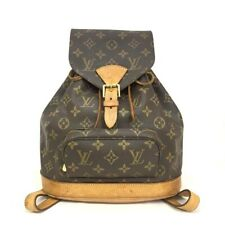 100% Authentic Louis Vuitton Monogram Montsouris MM Backpack /40204