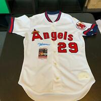 Rod Carew Signed Autographed California Angels Jersey With JSA COA