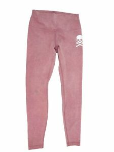 """SoulCycle Lululemon Wunder Under High Rise Tight Washed Antoinette Pink 28"""" sz 8"""