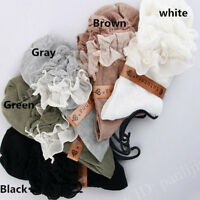 10 Pairs Women Princess Retro Lace Ruffle Frilly Ankle Sock Cotton Socks Breathe