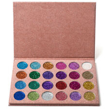 24 Colors Pressed Glitters Eyeshadow Diamond Rainbow Makeup Eye Shadow Palette