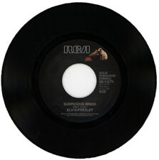 """ELVIS PRESLEY  """"SUSPICIOUS MINDS c/w YOU'LL THINK OF ME"""" ROCK & ROLL"""