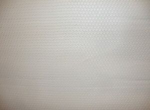 """Vinyl Upholstery Faux Leather Fabric Basket Weave Tile / WHITE 54"""" Wide - BTY"""