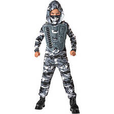 Snow Commando Child Dress Up / Role Play Costume Size Small