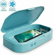 Portable UV Cell Phone Sanitizer Sterilizer Aromatherapy Function Disinfector