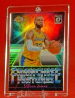 Franchise Features Optic Prizm Lebron James Lakers Jersey Rare Prism Refractor