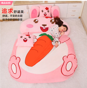 Rabbit Mascot Bean Sofa Tatami Mattress Cute Sofa Sleeping Bag Cartoon Beds Gift