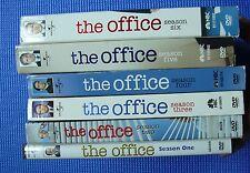 The Office Season 1 2 3 4 5 6 LOT DVD TV Series Box Set Carrel 1-6