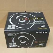 Kenwood Excelon Z910DVD CD/DVD Receiver * NEW IN BOX WITH REMOTE & MANUAL *