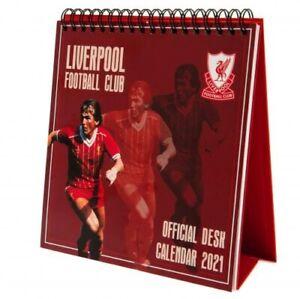 Liverpool Football Club Official 2021 Desktop Calendar Diary Planner Work Home