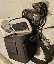 Fujifilm Finepix HS 10 Digital Camera 30x Super Wide Angle w/ Black Canvas Bag