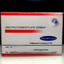 DENTAL PERMANENT TOOTH FILLING CEMENT KIT Zinc Polycarboxylate Cement Qus