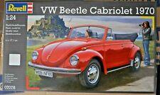 Revell Modell-Plastik-Bausatz/ 1970 VW Beetle Cabriolet 07078/122 Teile ca.17 cm