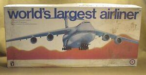 VINTAGE ENTEX LOCKHEED 500 MODEL AIRPLANE KIT 1/144 SCALE