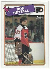 1988-89 TOPPS HOCKEY #34 RON HEXTALL 2ND YEAR - EXCELLENT-