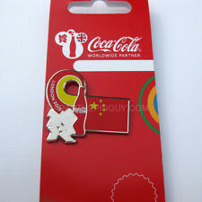 2012 London Summer Olympic Coca Cola Chinese Flag Pin
