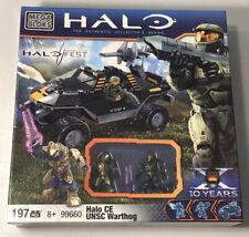 Halo Fest Exclusive Mega Bloks 99660 Halo CE UNSC Warthog Limited Edition Rare