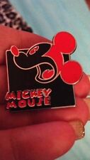 Authentic Walt Disney Mickey Mouse Red Colorful Expressions Pin