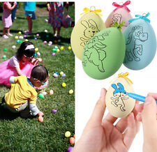 5X Easter Eggs Crafts for Kids Holiday Arts Diy Painting Kit Children Toys Gift