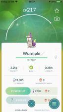 Pokemon Go shiny Wurmple ( Regular) - TRADE 20.000 stardust only ( registered)