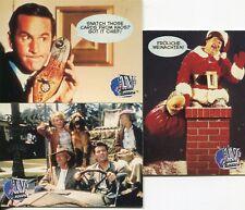 TV's Coolest Classics Set Of 3 Promo Cards P2, P3, BH1