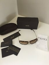 NEW TOM FORD TF 109 28F CYRILLE GOLD GRADIENT AUTHENTIC SUNGLASSES W/CASE