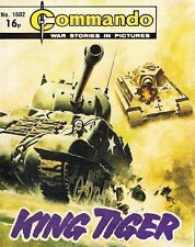 Commando For Action & Adventure Comic Book Magazine #1602 KING TIGER