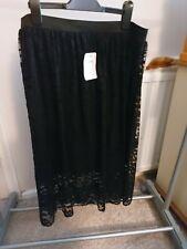 Primark Black Lace skirt 12 new