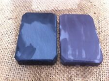 PAIR OF NATURAL HONE SHARPENING STONE IDEAL FOR AXE HATCHET  RAZOR BLADE #--