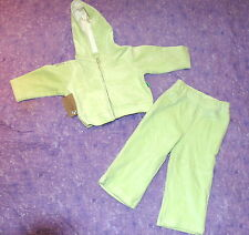 Sheababy Naturals Set of Pants & Hoodie Organic Cotton Green Size 18-24 months