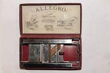 Antique Swiss Allegro Razor Sharpener With Box 1920`s