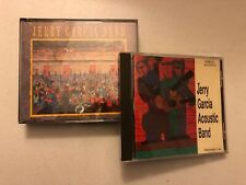 JERRY GARCIA CD LOT OF 2! ALMOST ACOUSTIC & GARCIA BAND 2 DISC!