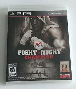 Fight Night Champion (Sony PlayStation 3, 2011) - CIB