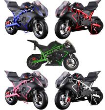 New listing MotoTec Cali 40cc Gas Pocket Bike Ride on Motorcycle Age12+ Mini MAKE OFFER!!