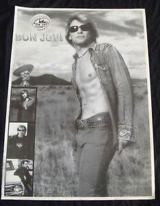 BON JOVI Album poster BOUNCE original record store promo UK