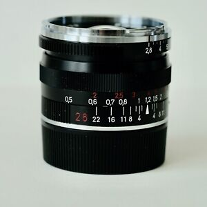 Carl Zeiss Manual Focus BIOGON T *   28mm f2.8 ZM Lens, BLACK, LEICA M MOUNT