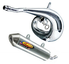 FMF Exhaust System - Gnarly Pipe & PowerCore 2 Silencer - Honda CR500R 1991-2001