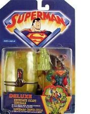 Superman Deluxe Kryptonite Escape Superman Figure with Chamber NIB Hasbro