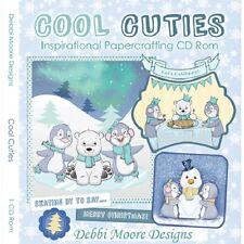 Debbi Moore Designs Cool Cuties Inspirational Papercrafting CD Rom 321452