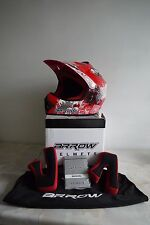 arrow motorrad/motocross offroad helm-kinder gr. xs (51 - 52cm)