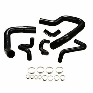 Silicone Radiator Hose Kit For 1986-1993 Ford Mustang GT LX Cobra 5.0 Black