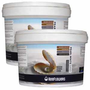 Reeflowers Pearl White Sand 7kg / 25kg Bucket Substrate Aquarium Fish Tank