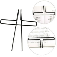 10Pcs Music Book Note Clip Sheet Music Song Book Page Clip Holder Metal
