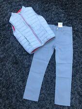 Veste gilet doudoune sans manches Okaidi et pantalon H&M 6 7 8 ans 128 cm neuf