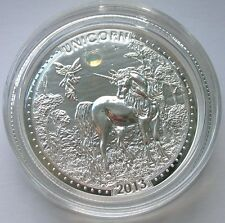 Cameroon 2013 UNICORN Opal Gemstone 1000 Francs Silver Coin,Proof