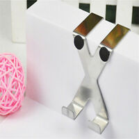 Stainless Steel Free Nail Back Door Cross-type Hook Cabinet Home Hanger Jian