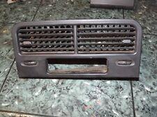 OEM 88-91 Honda CRX hatchback SH2 center dash outlet air vent clock trim black